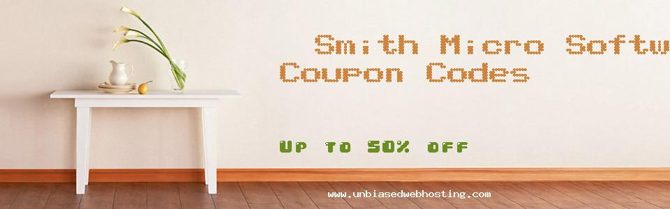 Smith Micro Software coupons